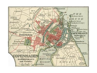 Map of Copenhagen (C. 1900), Maps