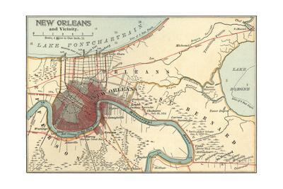 Map of New Orleans (C. 1900), Maps