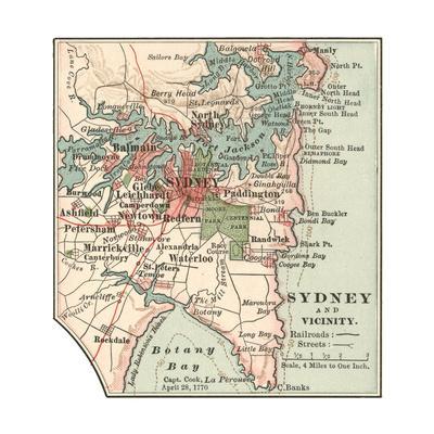 Map of Sydney (C. 1900), Maps