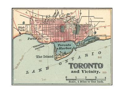 Map of Toronto (C. 1900), Maps