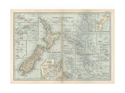 Plate 52. Pacific Ocean Islands Map