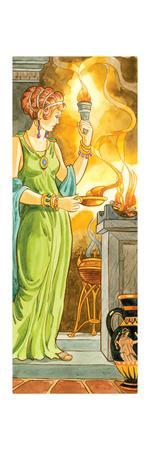 Hestia, Greek Mythology