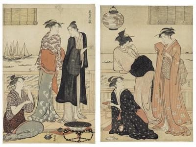 The Sixth Month, from the Series Twelve Months in the South (Minami Juni Ko), C.1784