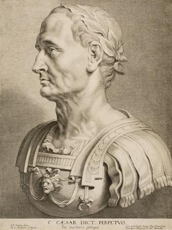 Julius Caesar, Perpetual Dictator, from Twelve Famous Greek and Roman Men, C.1633