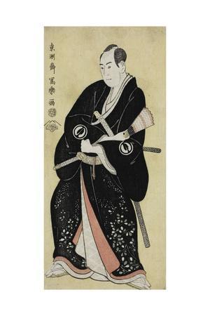 The Actor Sawamura Sojuro III as Nagoya Sanza Motoharu, 1794