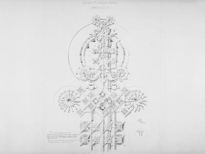 System of Architectural Ornament: Plate 11, Values of Parallel Planes (Parallelism), 1922-23
