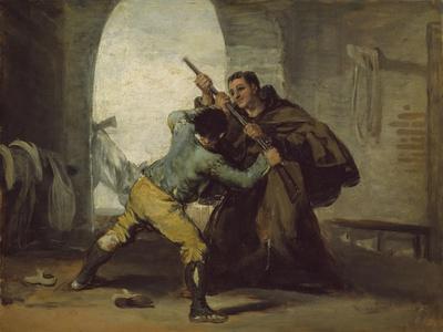 Friar Pedro Wrests the Gun from El Maragato, C.1806