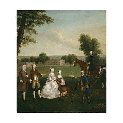 Thomas Lister and Family at Gisburne Park, 1740-41