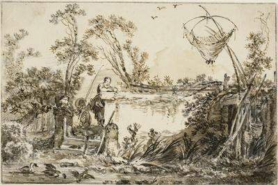 Study for the Frontispiece for Varie Vedute Del Gentile, C.1755