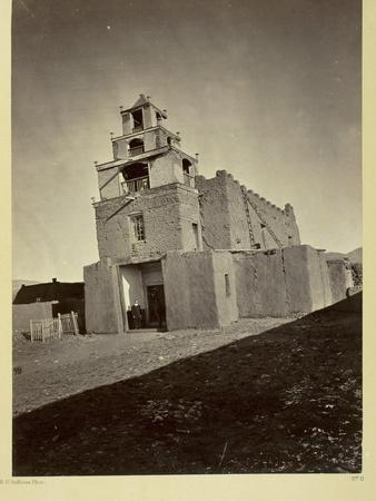 The Church of San Miguel, the Oldest in Santa Fe, N.M., 1873