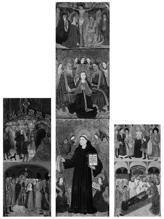Retable of Saints Athanasius, Blaise, and Agatha, 1440-45
