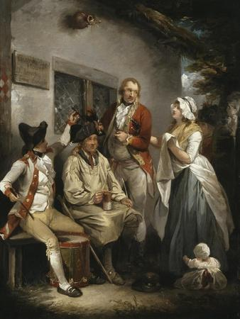 Trepanning a Recruit, C.1790