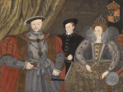 Henry Viii, Elizabeth I, and Edward Vi, 1597