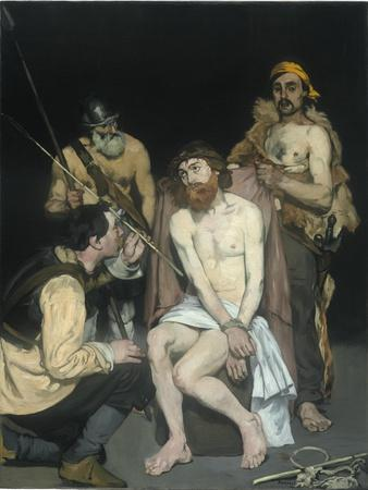 Jesus Mocked by the Soldiers, 1865