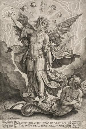 St Michael Triumphing over the Dragon, 1584