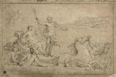 Triumph of Neptune and Amphitrite, 1706-07