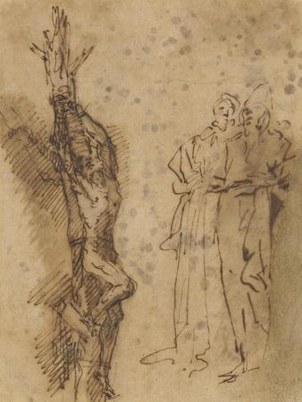 Study for Polycrates Crucifixion, C.1662