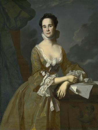 Mrs. Daniel Hubbard (Mary Greene), C.1764