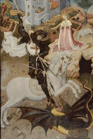 Saint George Killing the Dragon, 1434-35