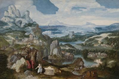 Landscape with the Penitent Saint Jerome, 1530-40