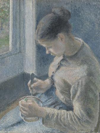 Young Peasant Having Her Coffee, 1881