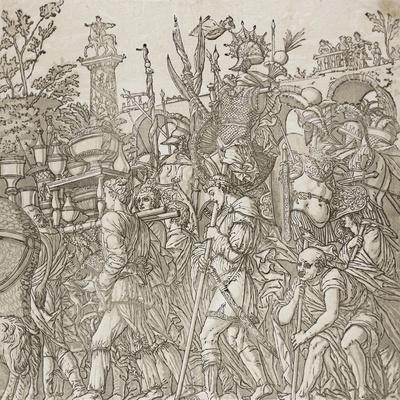 Triumph of Caesar, 1599