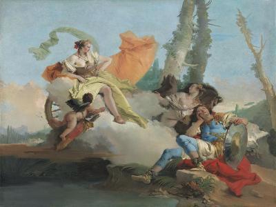 Armida Encounters the Sleeping Rinaldo, 1742-45