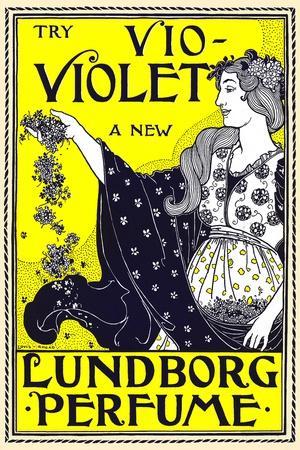 Try Vio-Violet, a New Lundborg Perfume