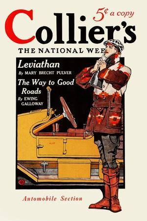 Collier'S, Automobile Section. Collier's for January 10, in Two Sections. Section Two.