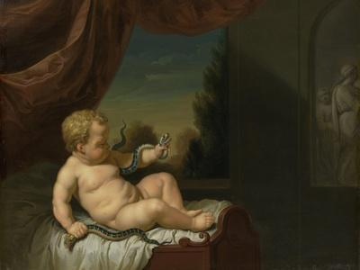Infant Hercules with a Serpent