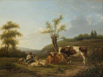 Landscape with Cattle Near Darthuizen