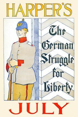 Harper's July, the German Struggle for Liberty