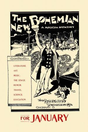 The New Bohemian, a Modern Monthly, for January
