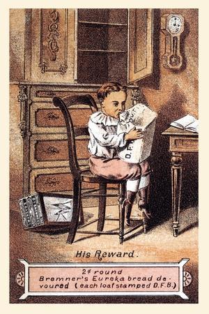 """D.F. Bremners Crackers """"His Reward"""""""
