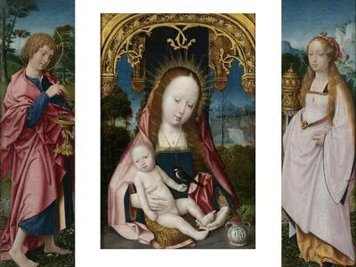 Triptych with Virgin and Child
