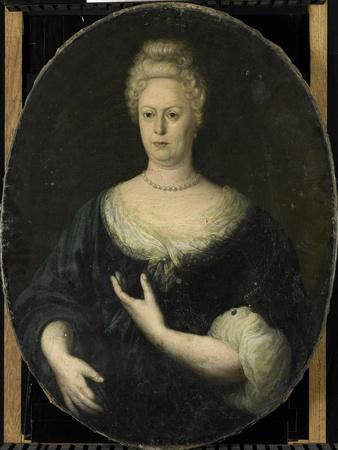 Portrait of Elisabeth Van Oosten, Wife of Abraham Van Riebeeck