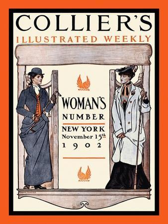Collier's Illustrated Weekly. Woman's Number, New York, November 15th, 1902