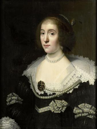 Portrait of Amalia