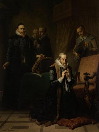 Last Prayer of Johan Van Oldebarneveldt