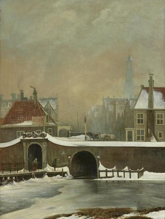 Ramparts in Amsterdam During Winter