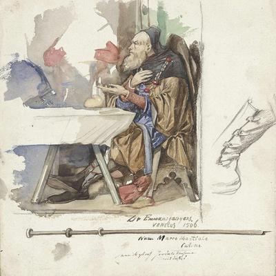 Christ Having Dinner at Emmaus
