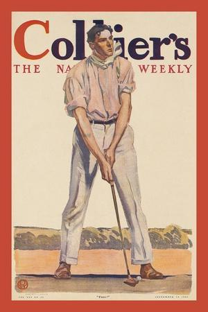 """Collier'S. """"Fore!"""""""