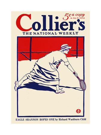 Collier's, the National Weekly, Eagle Shannon Ropes One by Richard Washburn Child