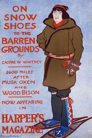 On Snow Shoes to the Barren Grounds by Caspar W. Whitney. 2600 Miles after Musk Oxen and Wood Bison