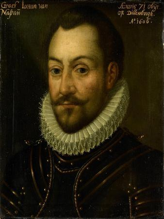 Portrait of an Unknown Count or Officer, Possibly Count John the Old of Nassau or Louis of Nassau