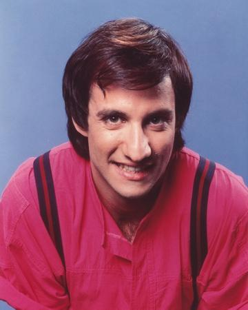 Bronson Pinchot wearing Red Shirt