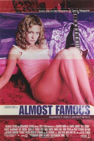 """Kate Hudson in """"Almost Famous"""" Movie Poster I"""