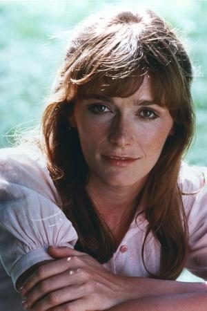 Margot Kidder Posed in Blouse with Arm's Cross