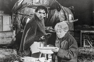 La Strada as Gelsomina and Zampano Scene
