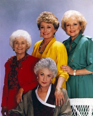 Golden Girls smiling Posed Group Portrait